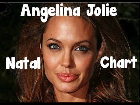 Angelina Jolie NATAL CHART Reading