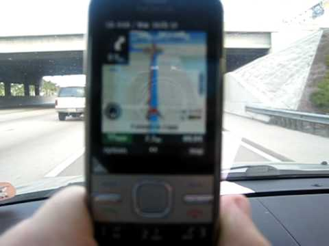 Nokia C5 Navigation in USA