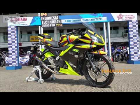 YAMAHA R15 2015. Edition THE DOCTOR. Valentino Rossi. 2015-2016. HD