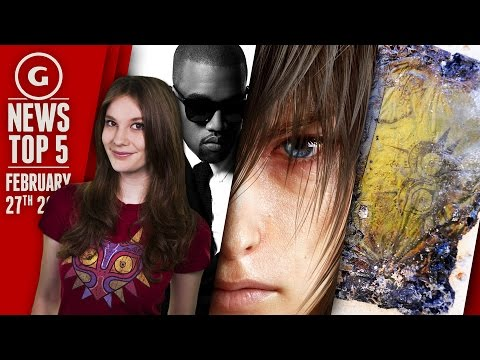 Final Fantasy XV Details, Microwaved 3DS and Kanye West? - GS News Top 5