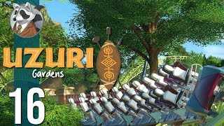 🌴Tamaa Mack Coaster | Uzuri Gardens | Let's Play Planet Coaster #16