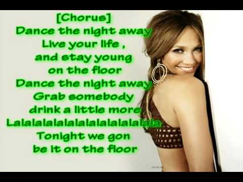 Jennifer Lopez - On The Floor (lyrics) Music Videos