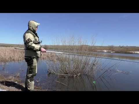 Рыбалка весной 2018 на поплавочную удочку. Открытие сезона!