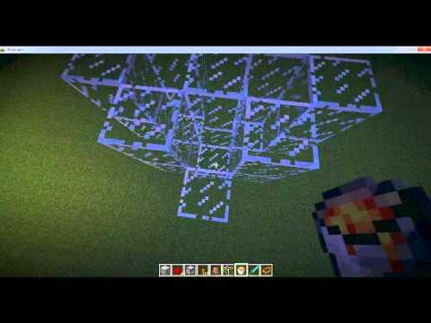 Лазер без модов в майнкрафт - YouTube
