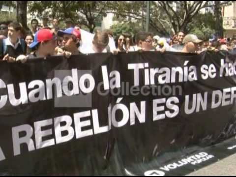 VENEZUELA:ANTI-GOVERNMENT PROTESTS CONTINUE