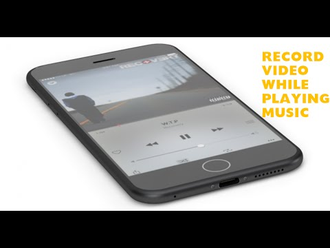 Play Audio While Recording Video - IPhone