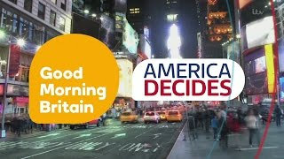 [HD] Good Morning Britain: America Decides - Wednesday 9 November 2016