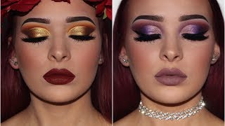 4 Tutorials + Reviews | Morphe x Jaclyn Hill VAULT COLLECTION | PART 1