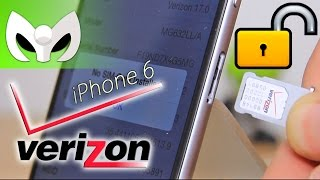 iPhone 6 de Verizon (DESBLOQUEADO DE FÁBRICA CONFIRMADO)