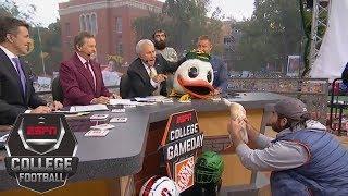 Lee Corso picks Week 4: Stanford Cardinal vs Oregon Ducks | College GameDay | ESPN