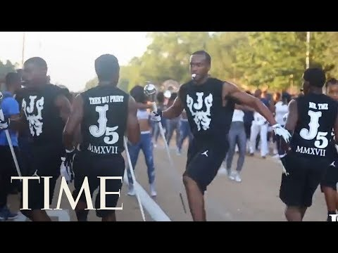 Jackson State's Band, The Drum Majors And The J-Settes Stepping To The Temptations/Get Ready | TIME