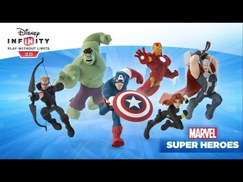 Disney Infinity 2.0: Marvel Super Heroes Close Look