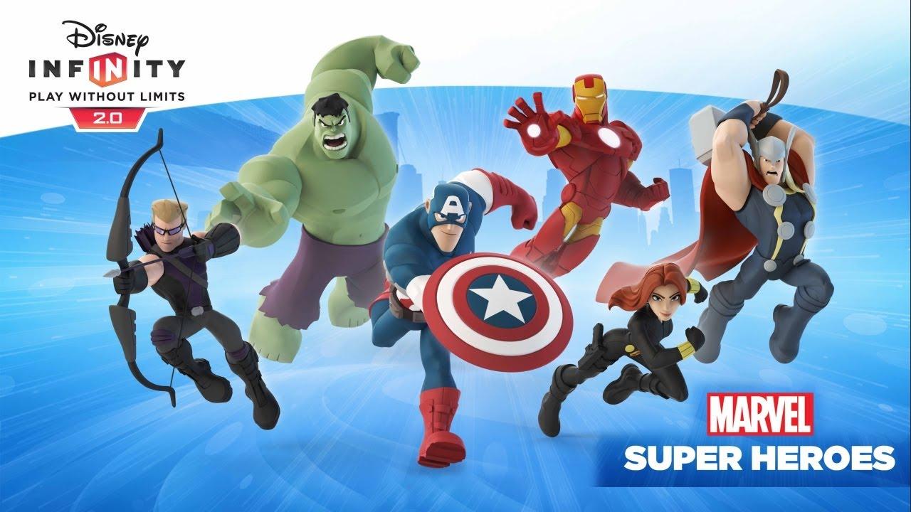 Disney Infinity 2 0 Marvel Super Heroes Close Look Youtube