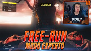 "Black Ops 3 ""FREE RUN - DIFICULTAD: EXPERTO""! Call Of Duty: Black Ops 3 Gameplay - TheGrefg"