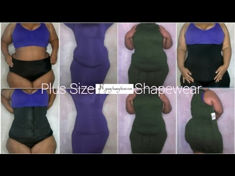Invisible Plus Size Shapewear Try-On   ft. Your Fashion Frenzy Clip & Zip Shapers   HIGHLY REQUESTED