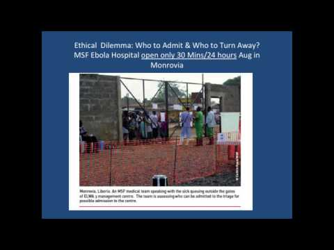 Working in Ebola Units in Sierra Leone & Liberia