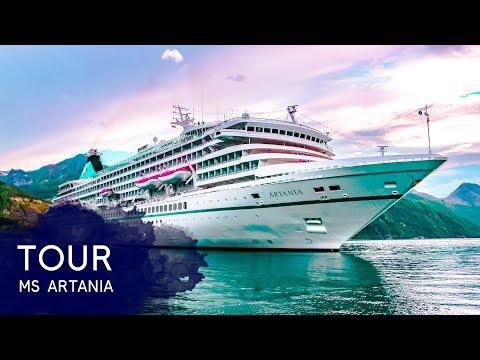 MS ARTANIA - Schiffsrundgang - Phoenix Reisen (Verrückt nach Meer)