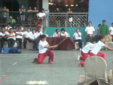 Arnis National Games In MOA 2012 Team PUP