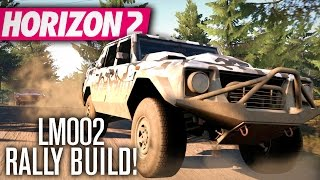 Forza Horizon 2 | Lamborghini LM002 Rally Build & Review