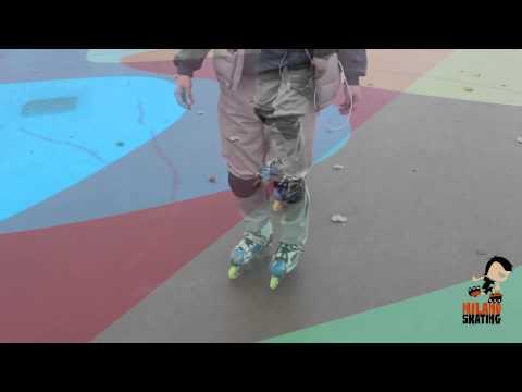 Milanoskating Freestyle: Slalom Punta punta