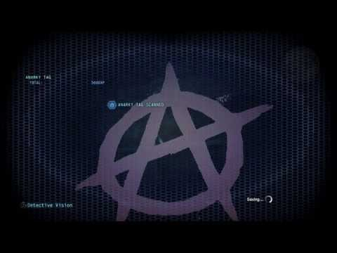 Batman Arkham Origins - All Gotham Intel Locations (Pinkney Plaques & Anarky Tags)