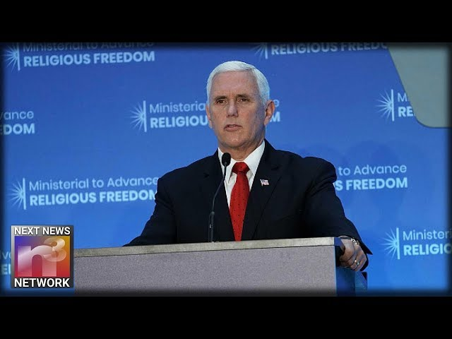 WHOA! Look At Mike Pence! He Just LASHED OUT At China, Reveals What They Want To Do To Trump