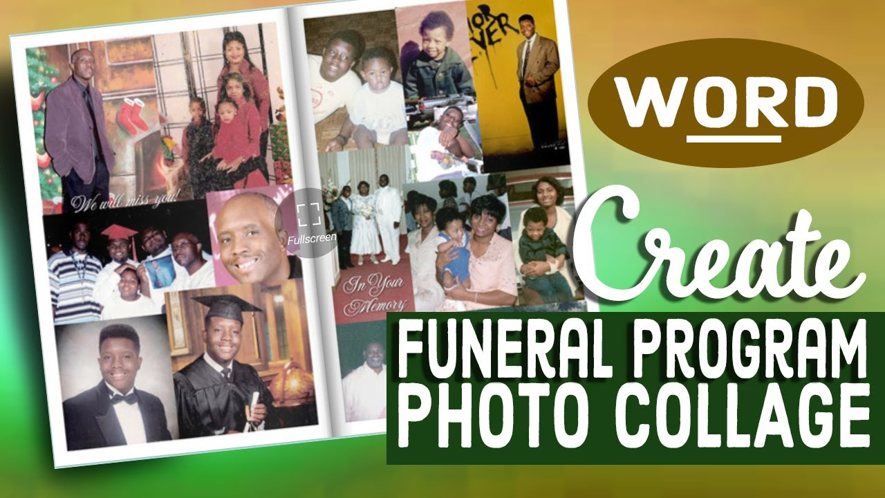 how to create a photo collage in microsoft word 2007  2010