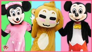동물 머리를 맞혀봐요! 인형 장난감 놀이 Animals wrong head and Children Dance | Kids Video for Toddlers Songs
