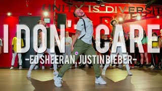 Ed Sheeran & Justin Bieber - I Don't Care | Hamilton Evans Choreography