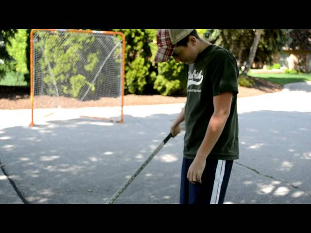 Beginner lacrosse tips on shooting and dodging