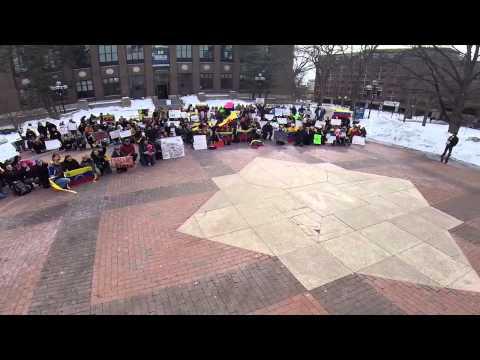 Venezuela Protest in the Diag