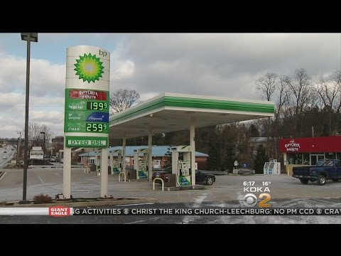 Gas Prices Start To Tumble Below $2 A Gallon In Pittsburgh Area
