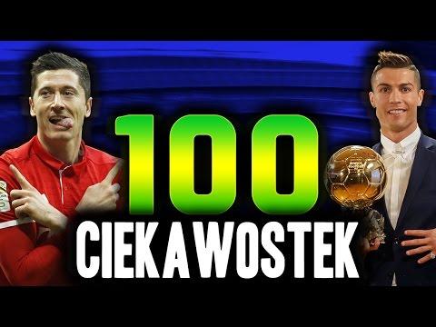 100 CIEKAWOSTEK O PIŁCE NOŻNEJ!