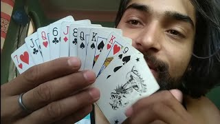 Cards magic trick