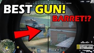 "BEST GUN! BARRET! SOLO - DUO! (Rules of Survival: Battle Royale) ""PINOY ROS"" TeamPH. Ft. Hambles"