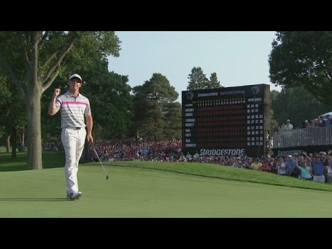 Rory McIlroy rises to the top with win at Bridgestone