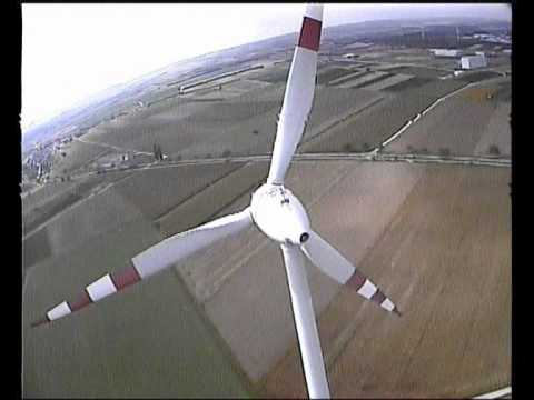 Impressive FPV RC Helicopter Flight Heli Onboard Camera Wind Turbine Almost Crash Accident Bike Car