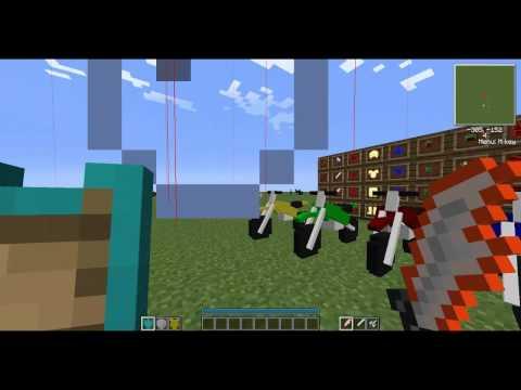 Minecraft 1.6.2 con mods instalados xD