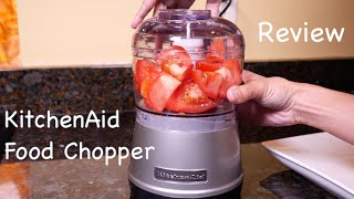 KitchenAid Food Chopper Review