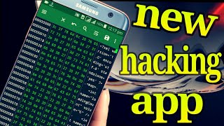 New hacking app  Hex editor  ( Hindi )