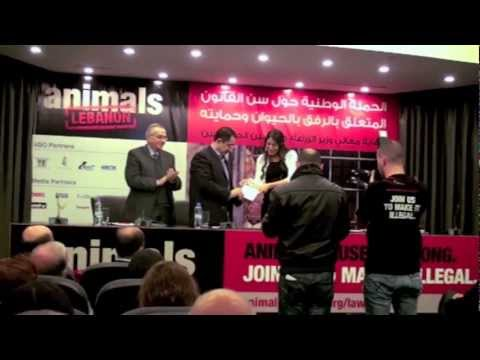 Campaign to enact animal welfare law