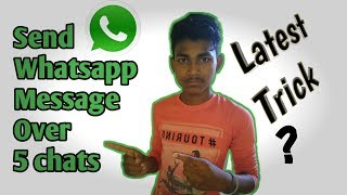 Send msg in one time over 5 chats|| Think About Technology