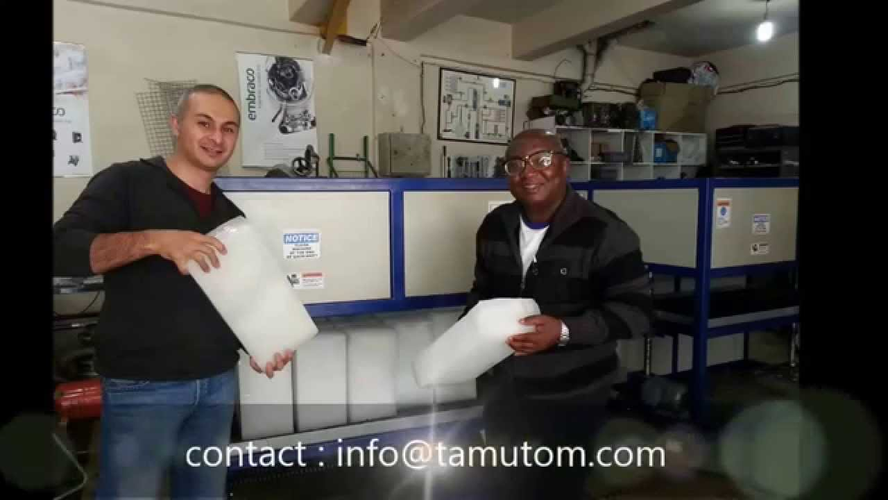 Testing Automatic Block Ice Machine