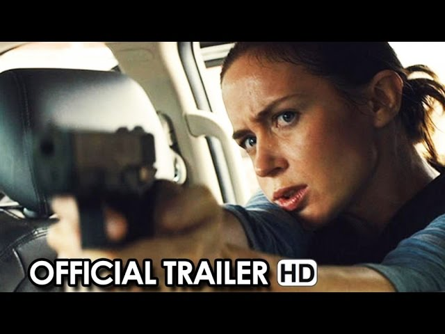 Sicario Official Trailer (2015) - Benicio Del Toro Crime Action Thriller HD