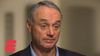 Rob Manfred's exclusive ESPN Interview on Astros sign-stealing scandal | MLB on ESPN