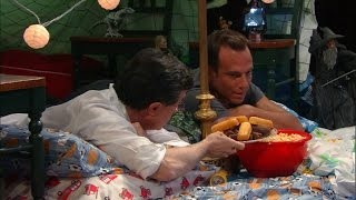 The Late Show Blanket Fort (With Will Arnett)