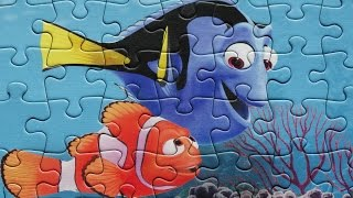 Dory Nemo Puzzle Disney Games Rompecabezas 49 pieces Puzzles Jigsaw Kids Learning Toys