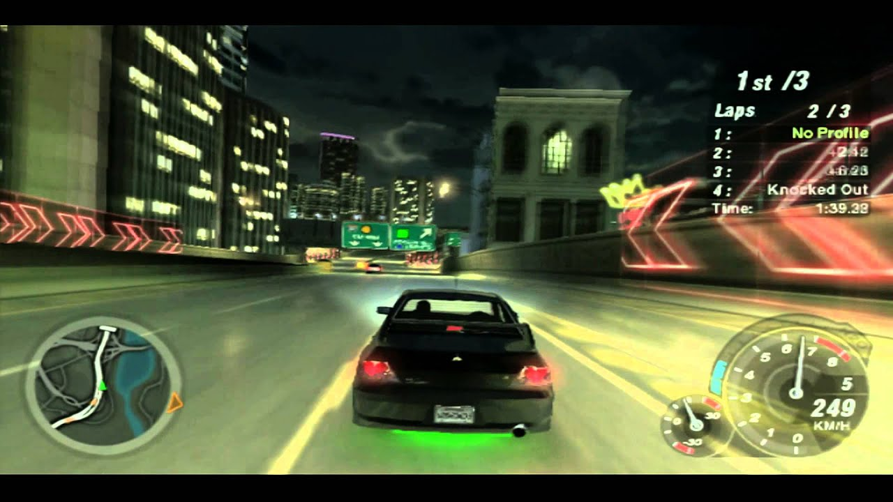 nfs underground 2 on ps3 1080p youtube. Black Bedroom Furniture Sets. Home Design Ideas