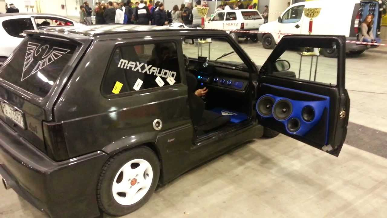 fiat panda audio tuning roma tuning show 2013 youtube. Black Bedroom Furniture Sets. Home Design Ideas