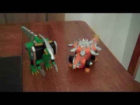 Power Rangers Dino Zord Set Review
